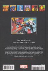 Verso de Marvel Comics - La collection (Hachette) -158115- Spider-Gwen : Un Pouvoir Supérieur
