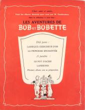 Verso de Bob et Bobette -1- Lambique chercheur d'Or