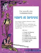 Verso de Robert et Bertrand -7- Le diable noir