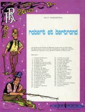 Verso de Robert et Bertrand -41- Apparitions