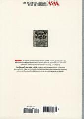 Verso de Les grands Classiques de la BD Historique Vécu - La Collection -18- Giacomo C. - Tome I : Le Masque dans la bouche d'ombre
