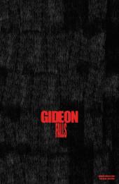 Verso de Gideon Falls (2018) -1VC- The speed of pain