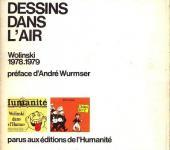 Verso de (AUT) Wolinski -1- Dessins dans l'air 78/79