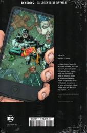 Verso de DC Comics - La légende de Batman -7466- Requiem - 1re partie