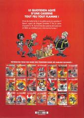 Verso de Les pompiers - Tome Compil
