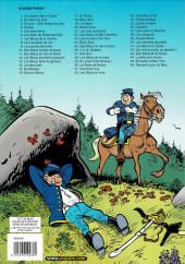 Verso de Les tuniques Bleues -26a2003- L'Or du Québec