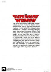 Verso de Superhero Women (The) (Marvel comics - 1977) - The Superhero Women