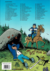 Verso de Les tuniques Bleues -20b2007- Black Face