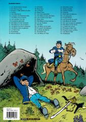 Verso de Les tuniques Bleues -22a2005- Des Bleus et des dentelles
