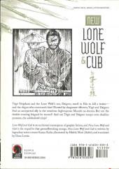 Verso de New lone wolf & cub -4- Volume 4