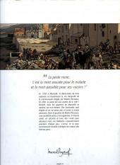 Verso de Les pestiférés - Tome 1a2019