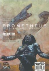 Verso de Prometheus : Life and death -1- Predator