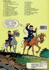 Verso de Les tuniques Bleues -25a1987- Des Bleus et des bosses