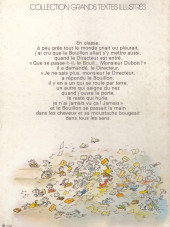 Verso de Le petit Nicolas - Tome 1b