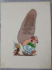 Verso de Astérix -8c1976- Astérix chez les bretons