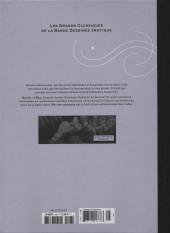Verso de Les grands Classiques de la Bande Dessinée érotique - La Collection -108108- Bye bye tristesse