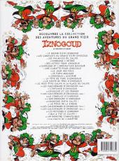 Verso de Iznogoud -15b2004- L'enfance d'Iznogoud