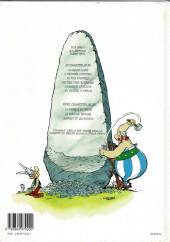 Verso de Astérix -28b2000- Astérix chez Rahàzade