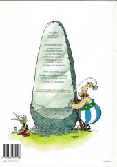 Verso de Astérix -27b2001- Le fils d'Astérix