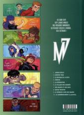Verso de Magic 7 -9- Le dernier livre des mages