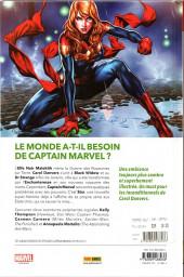 Verso de Captain Marvel (2019) -2- La chute d'une étoile