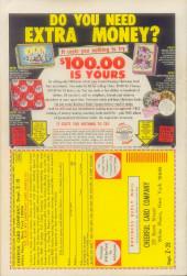 Verso de The outlaw Kid Vol.2 (Marvel - 1970) -8- Six-Gun Pay-off!