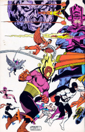 Verso de Official handbook of the Marvel Universe Vol.2 - Deluxe Edition (1985) -4- Doctor Strange to Galactus