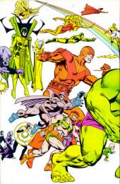 Verso de Official handbook of the Marvel Universe Vol.2 - Deluxe Edition (1985) -5- Gardener To The Hulk