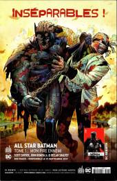 Verso de Batman Rebirth (DC Presse) -4- Tome 4