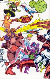 Verso de Official handbook of the Marvel Universe Vol.2 - Deluxe Edition (1985) -6- Human Torch To Ka-Zar