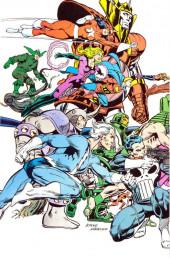 Verso de Official handbook of the Marvel Universe Vol.2 - Deluxe Edition (1985) -10- Paladin To Rhino
