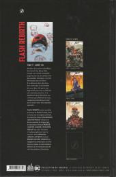Verso de Flash Rebirth -9- Année un
