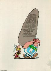Verso de Astérix -1f1978- Astérix le gaulois