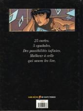 Verso de La malédiction de Zener -1- Sibylle