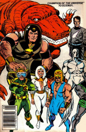 Verso de Official Handbook of the Marvel Universe Vol.3 - Update'89 (1989) -2- Champion Of The Universe To Ecstasy