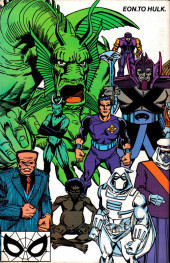 Verso de Official Handbook of the Marvel Universe Vol.3 - Update'89 (1989) -3- Eon To Hulk