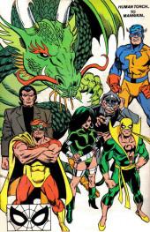 Verso de Official Handbook of the Marvel Universe Vol.3 - Update'89 (1989) -4- Human Torch To Mannikin