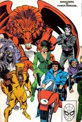 Verso de Official Handbook of the Marvel Universe Vol.3 - Update'89 (1989) -5- Marauders To Power Princess