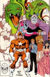 Verso de Official Handbook of the Marvel Universe Vol.3 - Update'89 (1989) -7- Set To Tyrak