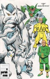 Verso de Official Handbook of the Marvel Universe Vol.3 - Update'89 (1989) -8- U-Man To Madelyne Pryor