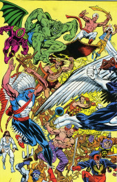 Verso de Official handbook of the Marvel Universe Vol.1 (1983) -1- A: From Abomination to Avengers Quinjet