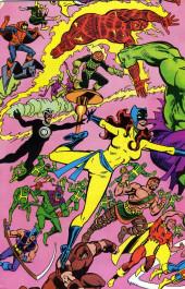 Verso de Official handbook of the Marvel Universe Vol.1 (1983) -5- H-J: From Hangman To Juggernaut