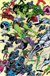 Verso de Official handbook of the Marvel Universe Vol.1 (1983) -9- Q-S: From Quasar To She-Hulk