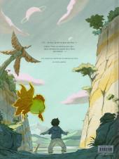Verso de Le monde de Milo -8- La Terre sans Retour 2/2