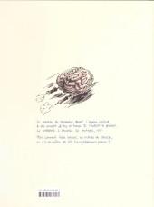 Verso de La fuite du cerveau
