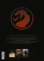 Verso de Le dernier dragon -3- La compagnie blanche