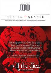 Verso de Goblin Slayer -9- Tome 9