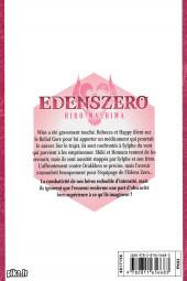 Verso de Edens Zero -10- Notre futur