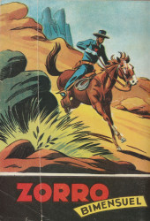 Verso de Zorro (2e Série - SFP puis SFPI) -22- le magot