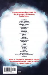 Verso de Official Handbook of the Marvel Universe Vol.4 (Marvel comics - 2004) -3- Avengers 2004